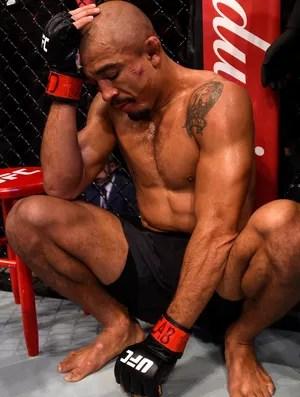José Aldo x Max Holloway UFC Rio 8 (Foto: Getty Images)