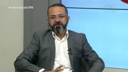 Tárcio Teixeira (Psol) em entrevista ao G1, nesta quinta-feira (13) — Foto: Reprodução/G1