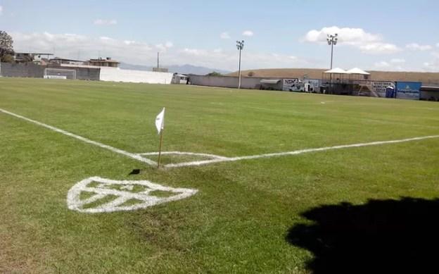 Estádio José Olívio Soares, do Atlético Itapemirim (Foto: Wildson Lesqueves/Atlético-ES)