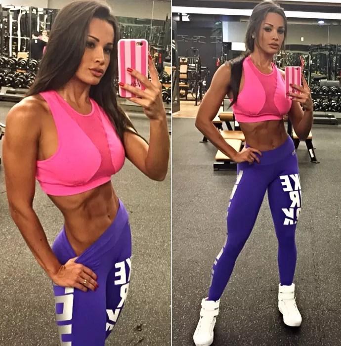 Fernanda D'avila afirma que se vê com o corpo melhor hoje do que quando era mais nova (Foto: Arquivo Pessoal)