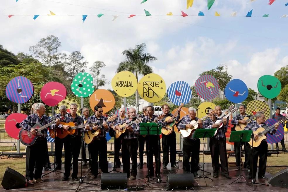 Orquestra Coração da Viola (Foto: Fernando Pilatos)