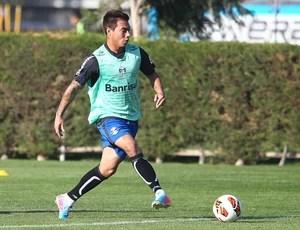 Eduardo vargas grêmio treino (Foto: Lucas Uebel / Grêmio FBPA)