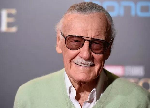 O quadrinista Stan Lee, de 95 anos, de causas naturais (Foto: Getty Images)