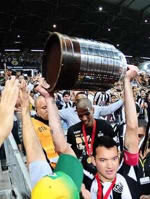 jogadores Atlético-MG Taça Libertadores (Foto: Marcos Ribolli / Globoesporte.com)