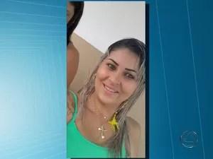 manicure foi encontrada morta em cachoeira de Campo Grande (Foto: Reprodução/ TV Morena)
