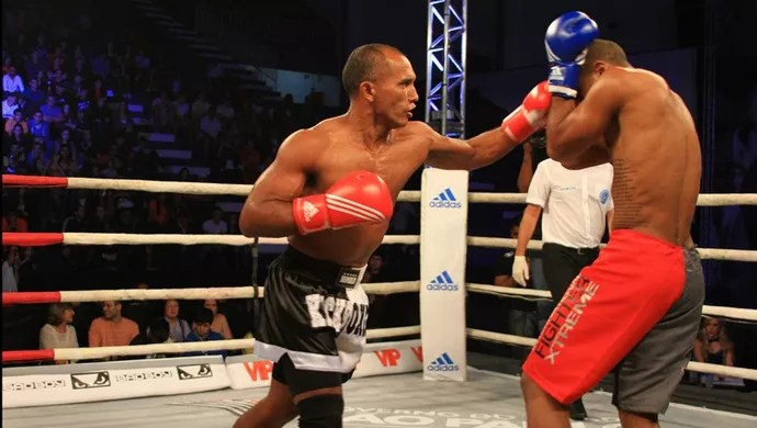 Chacal kickboxing (Foto: João da Hora Sanches)