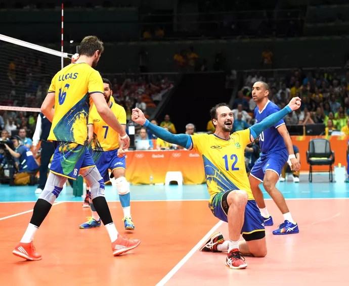 Lipe, Brasil X Rússia vôlei (Foto: André Durão / Globoesporte.com / Nopp)