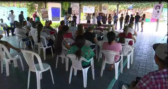 Seminário debateu questões sobre a preservação da água na Amazônia (Foto: Reprodução)