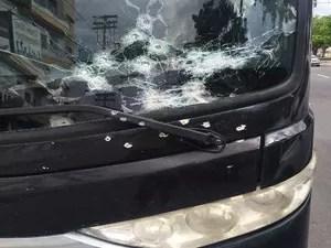 Ônibus da banda Cavaleiros do Forró é alvo de assalto em PE (Foto: Divulgação)