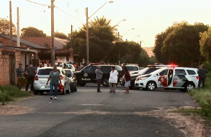 Polícia Civil ainda procura por partes do corpo da adolescente em Araraquara — Foto: Reprodução/EPTV
