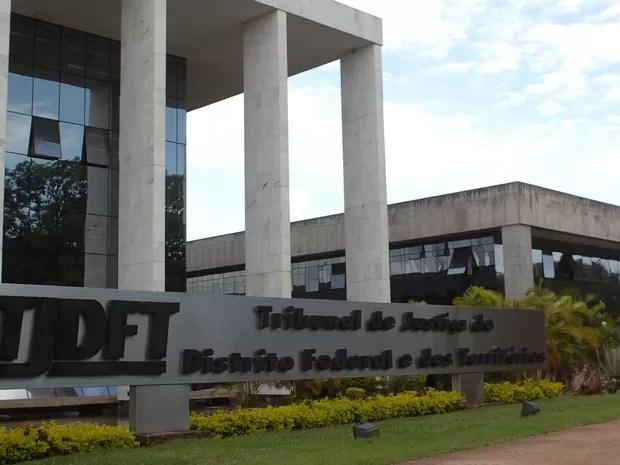Fachada do Tribunal de Justiça do Distrito Federal (Foto: TJDFT/Divulgação)