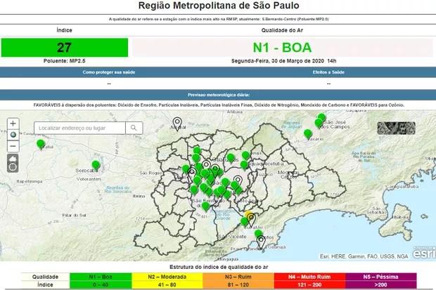 Mapa região metropolitana de SP (Foto:  Divulgação)