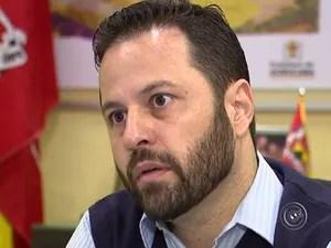Rodrigo Maldonado lamentou o ocorrido e espera viajar em breve  (Foto: Reprodução/TV TEM)