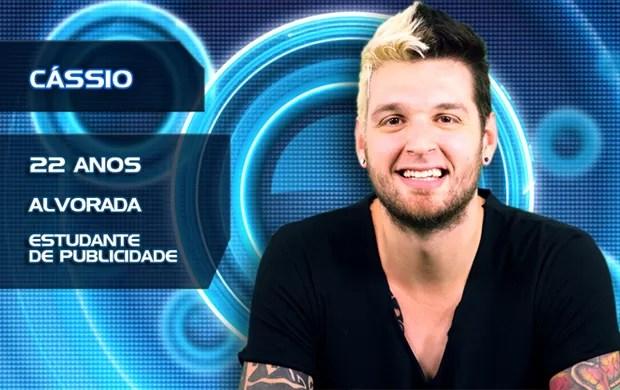 Cássio (Foto: BBB/TVGlobo)
