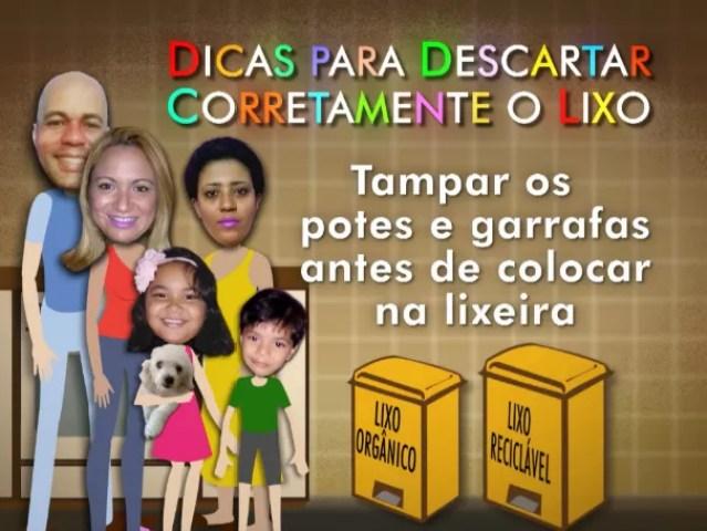 Menos é mais: no quarto e último episódio família Bruno aprende a reutilizar o lixo produzido e a descartar corretamente; como será? (Foto: Globo )