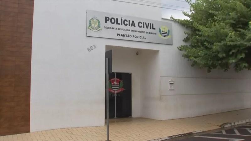 Polícia Civil de Birigui  — Foto: Reprodução/TV TEM