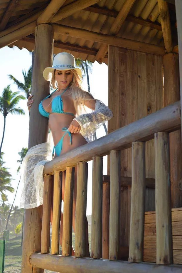 Janaina Santucci  (Foto: Bennerlan Diesel/MF Models)