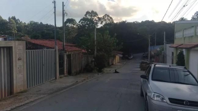 Casa onde ocorreu o crime fica em um bairro afastado no centro de São Roque — Foto: Matheus Fazolin/g1/Arquivo