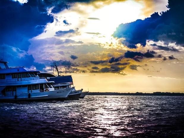 Rafael Lima elegeu o Rio Negro como seu lugar favorito (Foto: Rafael Lima/VC no G1)