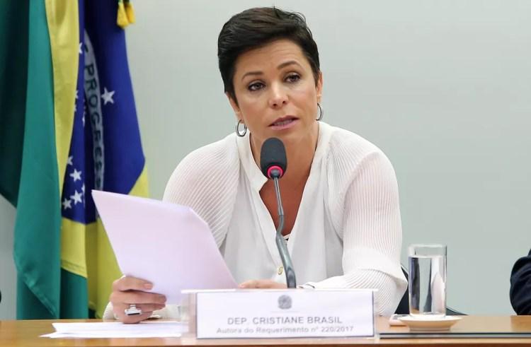 Deputada federal Cristiane Brasil (RJ) (Foto: Gilmar Felix/Câmara dos Deputados)
