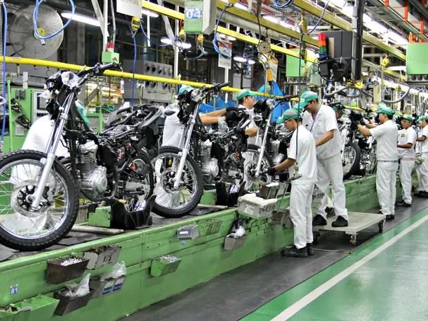 Resultado de imagem para produção de motos