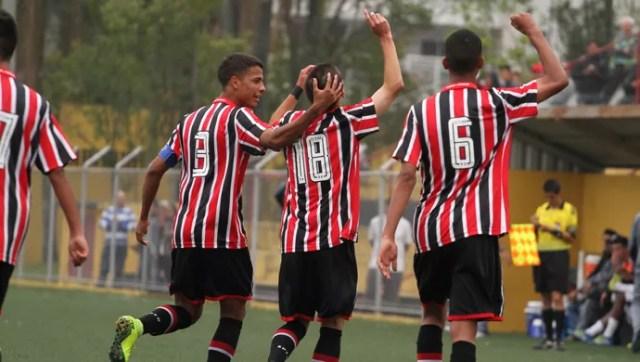 São Paulo sub-17 (Foto: Igor Amorim/saopaulofc.net)
