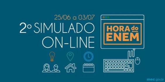 2° edição do simulado online do Enem  (Foto: Foto: Ministério da Educação )