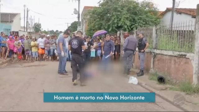 Comerciante reagiu a assalto e matou jovem que tentava invadir mercearia em Cuiabá (Foto: TV Centro América)