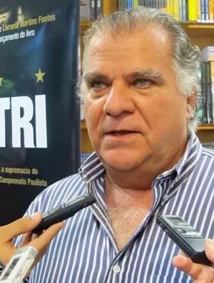 Odílio Rodrigues, vice-presidente do Santos (Foto: Juliana Vieira / globoesporte.com)