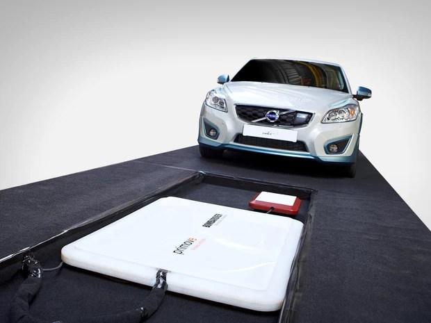 Volvo cria sistema de recarga sem fio para carro elétrico (Foto: Divulgação)