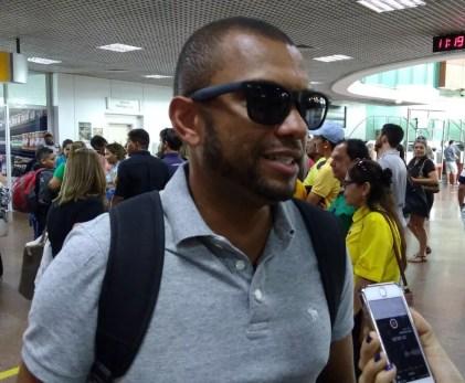 Amoroso divide com Chulapa o comando de um dos times que jogará na saideira (Foto: Smack Neto/GloboEsporte.com)