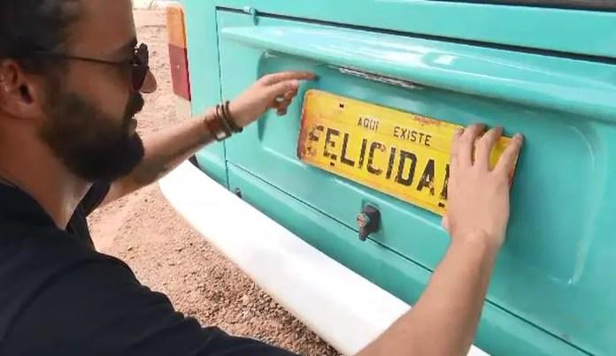 Servidor público quer chegar em Califórnia, nos Estados Unidos  — Foto: Reprodução/Rede Amazônica Acre