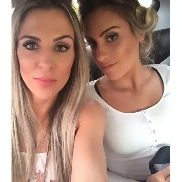 Joana Machado e a filha, Ana Luiza (Foto: Reprodução/Instagram)