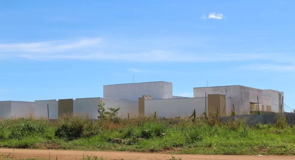 Unidade hospitalar deve ser concluída em 2018 (Foto: Júnior Freitas/G1)
