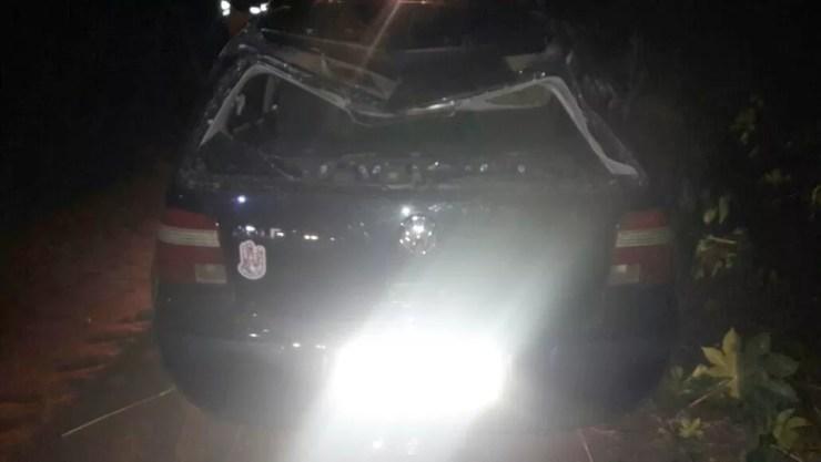 Causas do acidente serão investigadas (Foto: Divulgação/Polícia Rodoviária Estadual)