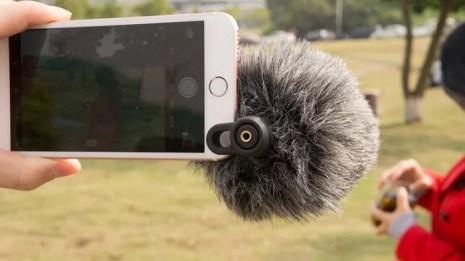 Microfone da Rode permite adicionar abafador de vento (Foto: Divulgação/Aliexpress)