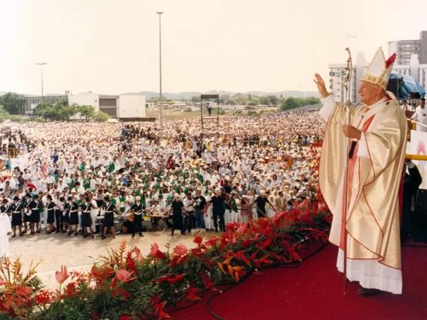Resultado de imagem para papal joao paulo ii natal