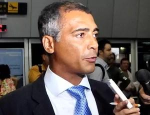 Romário em Manaus (Foto: Antônio Lima/Semdej)
