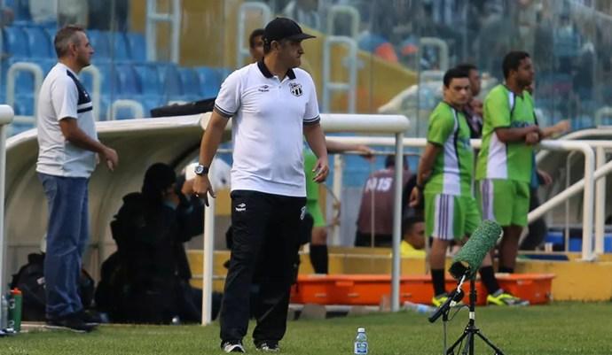Os 63,3% de aproveitamento de Marcelo Chamusca no Ceará deram o G-4 ao time, mais constância tática e disputa sadia entre jogadores (Foto: Divulgação/Cearasc.com)