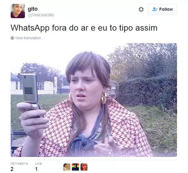 Bloqueio do Whatsapp virou tema das redes sociais nesta quarta-feira (16)