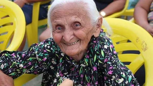 Antônia Conceição da Silva, de 106 anos, foi morta a pauladas dentro da sua residência em Feira Nova do Maranhão — Foto: Divulgação