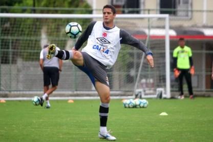 Anderson Martins, do Vasco, está perto do São Paulo (Foto: Paulo Fernandes/Vasco.com.br)