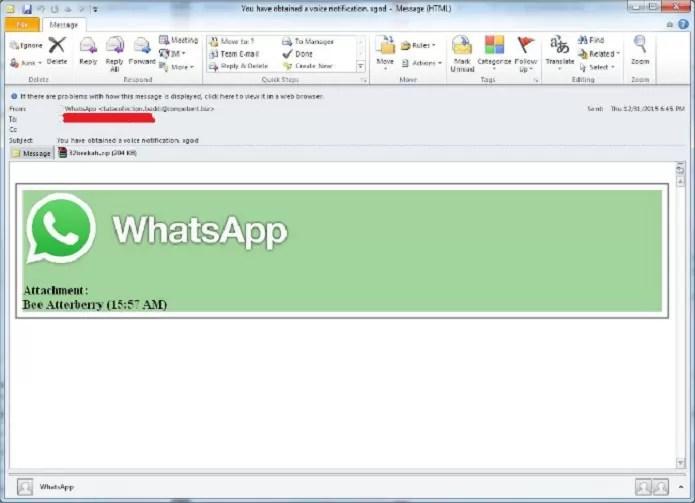 whatsapp-screen-grab Vírus usa nome do WhatsApp para se espalhar em celulares e PCs