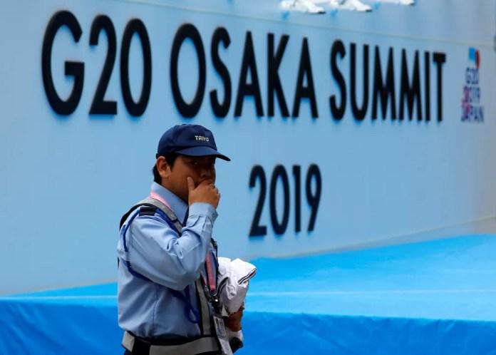 Cidade de Osaka, no Japão, será sede de encontro do G20 — Foto: Issei Kato/Reuters