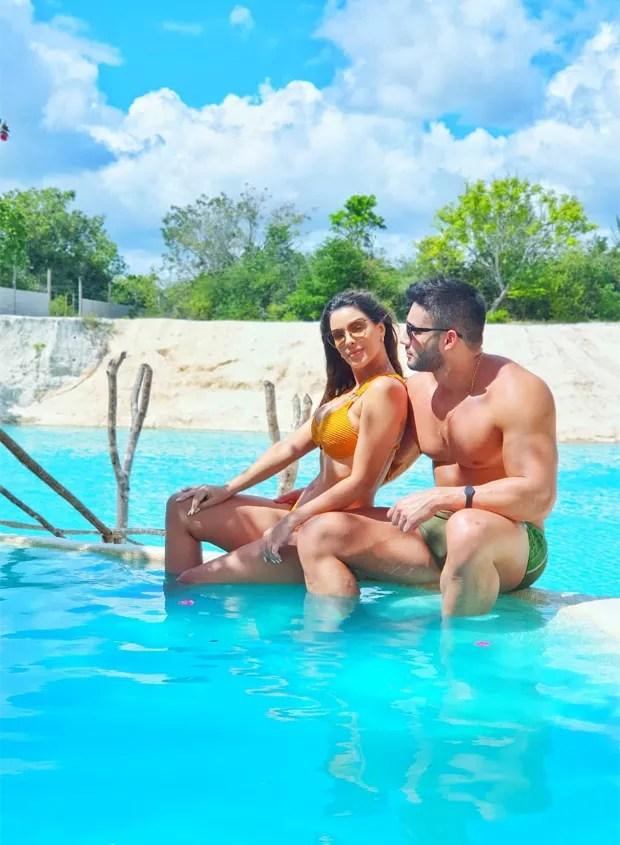 Ivy Moraes e Fernando Borges (Foto: Reprodução / Instagram)