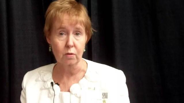 JoAnn Pinkerton, diretora-executiva da Sociedade Norte-Americana de Menopausa (Foto: YouTube)