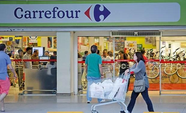 Empresa;Pão de Açúcar;Concorrência O Carrefour é hoje o líder do varejo alimentar no Brasil. Iabrudi diz que o GPA vai retomar a primeira posição do ranking  (Foto: Guilherme Leporace / Agência O Globo)