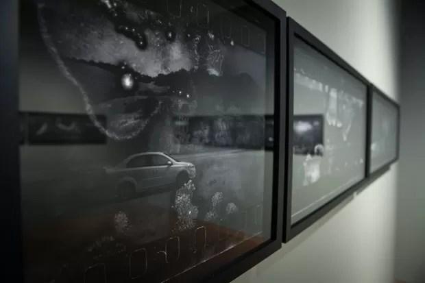Curadoria da exposição é de Fausto Chermont, que segundo Maranhão acompanhou o trabalho 'desde que ele nasceu' (Foto: Fábio Tito/G1)