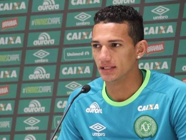 Lucas Gomes é natural de Bragança, Nordeste paraense. (Foto: Cleberson Silva/Chapecoense)