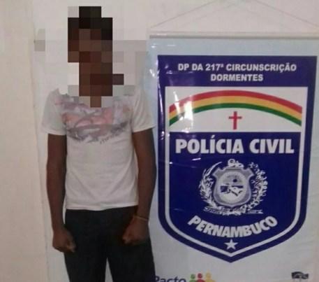 Mandado de internação provisória por ato infracionario  (Foto: Divulgação/ PC-PE)